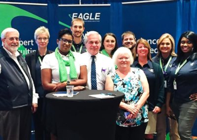 Part of the Eagle Team at the PCCA International Seminar