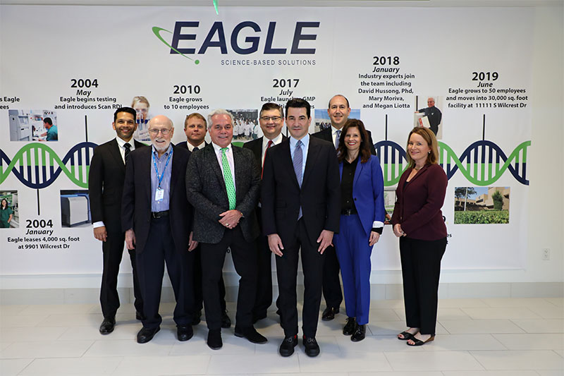 Dr. Scott Gottlieb Tours the New Eagle Facility