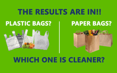 Microbiological Showdown: Plastic Bags vs. Paper Bags