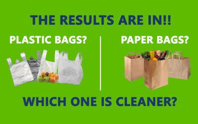 Microbiological Showdown: Plastic Bags vs. Paper Bags