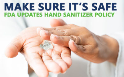 Updates to FDA's Policy for Compounding of Hand Sanitizer
