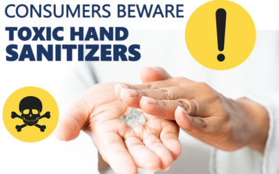 Dangerous Hand Sanitizers on the Market – FDA Recalls