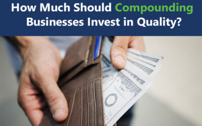 Cost of Quality and the Price of Nonconformance